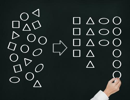 Gruppera uppgifterna i att göra-listor